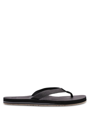 Billabong black All Day Slim Flip Flops 8477BSH5D265E1GS_1