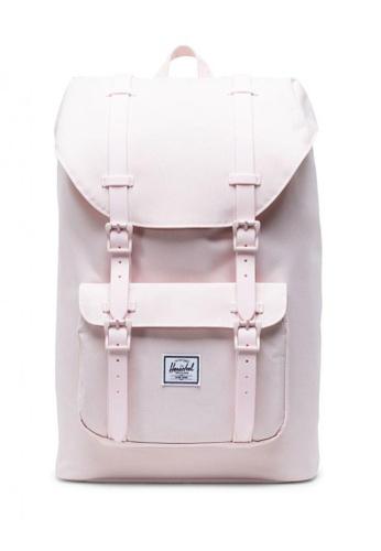 Herschel pink Little America Mid Backpack 202F0ACD8439B4GS_1