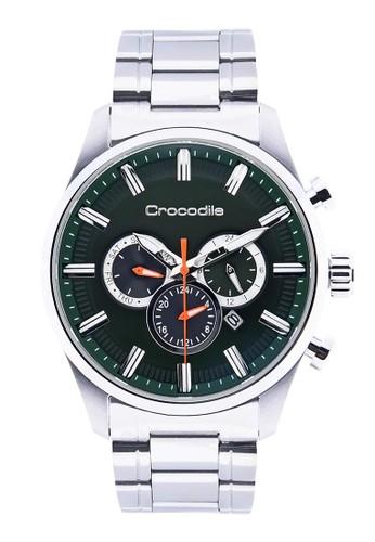 Crocodile Timepiece silver Crocodile CM-007A11D Jam Tangan Pria  23F8EAC249788FGS 1 8fad790f64
