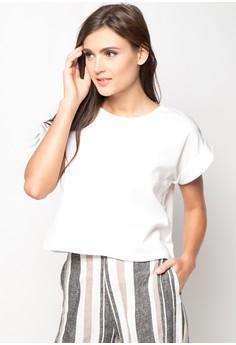 Folded Sleeves Top
