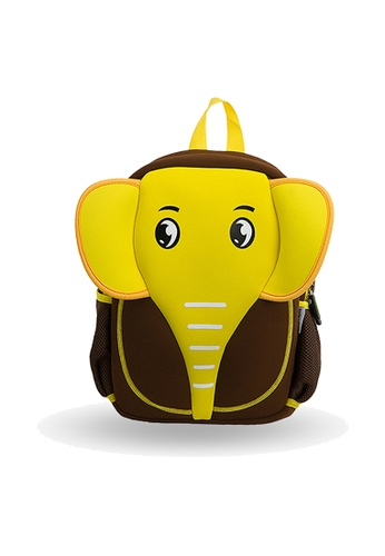Nohoo brown Nohoo Kids Backpack Elephant (Brown) F22FEKC4711874GS_1
