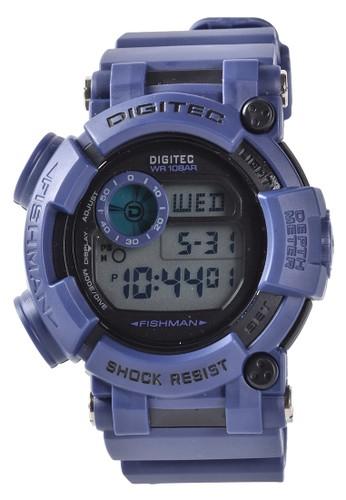 Digitec blue Digitec - Jam Tangan Pria - Blue - Resin Strap - DG2106-E C0EB7ACC0D0FBEGS_1