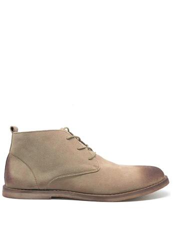 Twenty Eight Shoes beige Vintage Suede Boots MC620 BCF7ESHB0F6C40GS_1