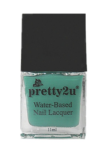 Pretty2u green Peel Off Water-Based Nail Lacquer 15 PR716BE60EEXMY_1