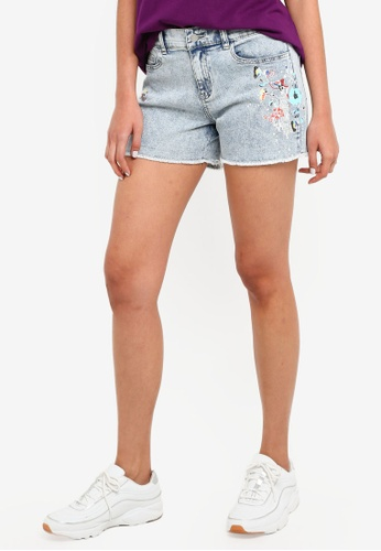 ESPRIT blue Denim Shorts 54335AA8B724B9GS_1