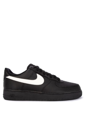 Nike black Men's Nike Air Force 1 '07 Shoes F01EDSH0D8FB33GS_1