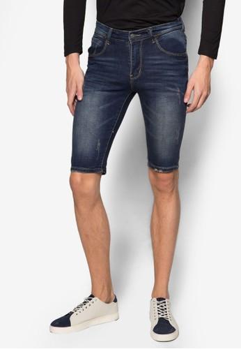 刷破丹寧短褲esprit 見工, 服飾, 長褲