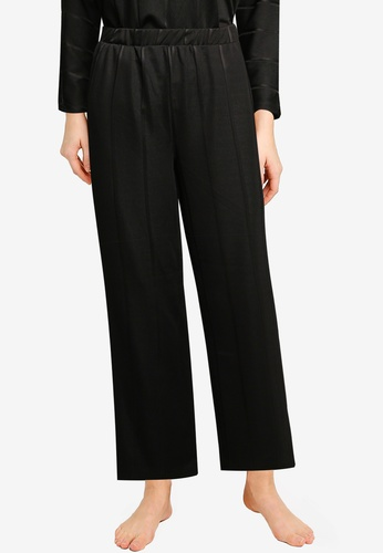 JACQUELINE DE YONG black Bina Wide Lounge Pants 0C82CAA79477C5GS_1