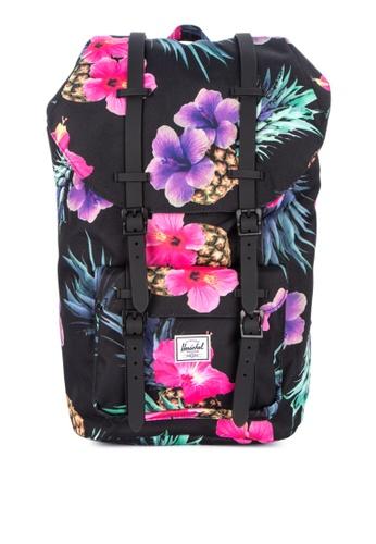 Herschel black Little America Backpack 73F12AC33E2D05GS_1