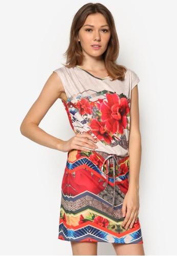 Bahamas 印花連身裙, esprit服飾服飾, 正式洋裝