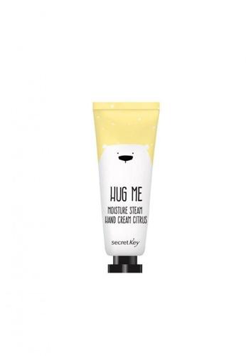Secret Key Hug Me Moisture Steam Hand Cream (Citrus) SE882BE48LSLSG_1