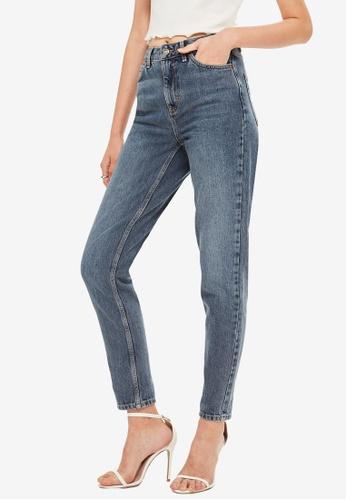 TOPSHOP 灰色 Grey Mom Jeans 323C6AAD80E49EGS_1