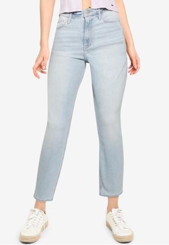 Hollister blue Skinny Ankle Jeans 796E9AA07A77AFGS_1