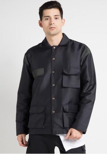 (X) S.M.L black Eugent Jacket XS330AA0WEA7ID_1