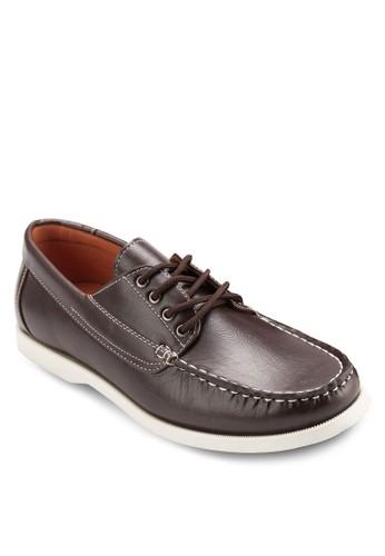 正式感esprit 寢具繫帶船型鞋, 鞋, 鞋