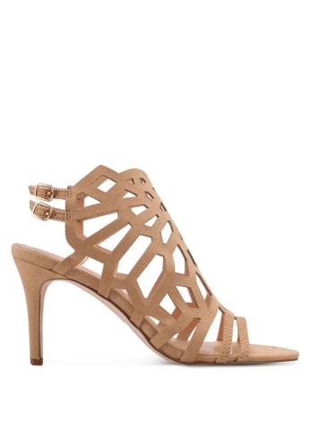Something Borrowed beige Cut Out Open Toe Heel 60694ZZ2EEA54FGS_1