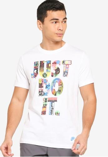 Nike white Just Do It Tee 35163AA74DE059GS_1