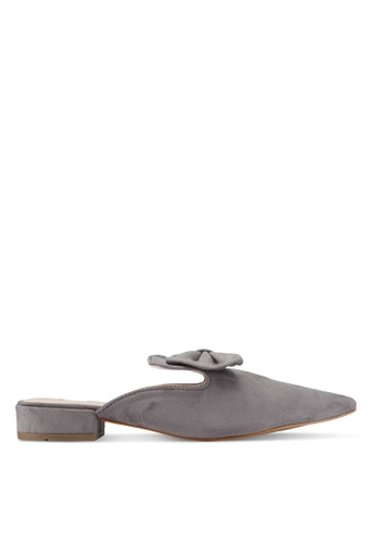 addicts anonymous grey Hazelbow Mules Flats AD479SH0SVJVMY_1