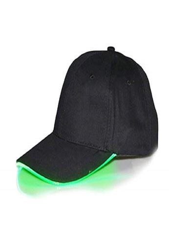 Dolce Zen black Unisex LED Baseball Cap FA155ACA2F77B4GS_1