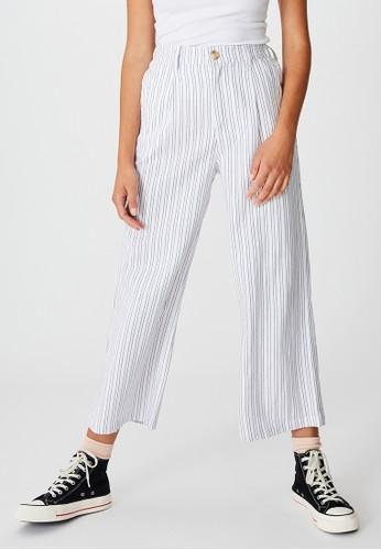 Cotton On white Cindy Wide Leg Pant 8C11BAA2CF2176GS_1