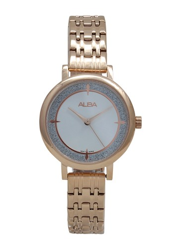 Alba gold ALBA Jam Tangan Wanita - Rosegold - Stainless Steel - AH8524 7DC5CAC4F1197DGS_1