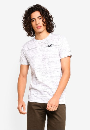 Hollister white Short Sleeve Ombre T-Shirt 5C426AAE4C28BAGS_1