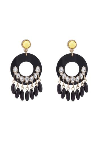 690efc4015a80 Circle Drop Earrings