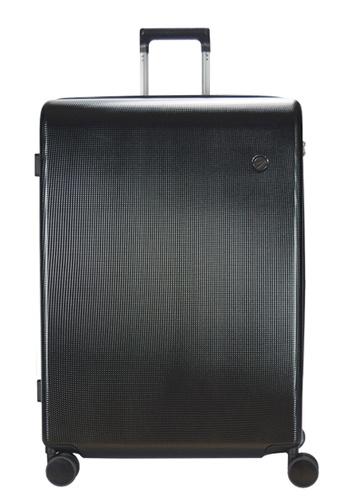 Airways black Airways Elite ATH 7914 PC 24 inch Spinner Hard Case Luggage - Black A2481AC2C3B2ECGS_1
