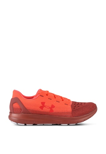 Under Armour red UA Remix 2.0 Sneakers 1EEADSH319DFFCGS_1