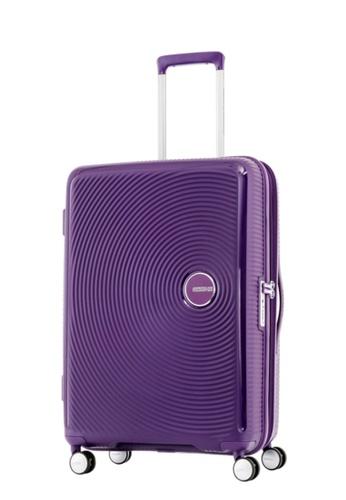 American Tourister purple American Tourister Curio Spinner 69/25 Exp TSA AM536AC67ZYASG_1