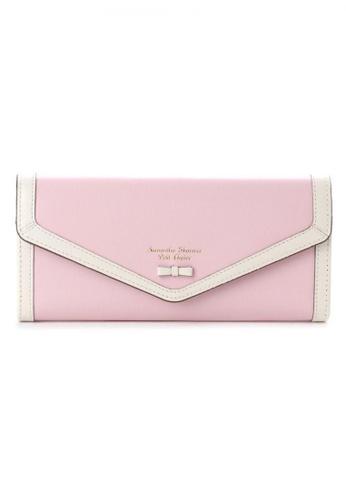 Samantha Thavasa pink Samantha Thavasa Petit Choice Aletta Long Wallet E58B4AC9EF513FGS_1