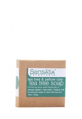 Sensatia Botanicals n/a Sensatia Botanicals Tea Tree & Yellow Clay Tea Tree Soap - 25 gr F30E4BE1154B88GS_1
