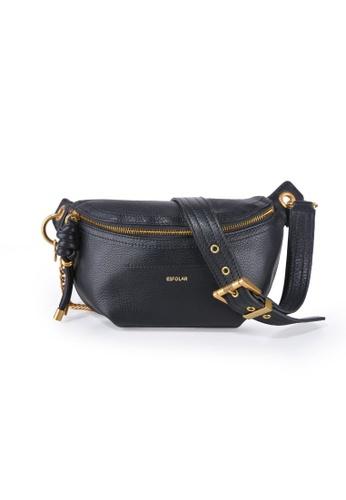Esfolar 黑色 Esfolar Sling Waist Bag (EA190023) BFF3FAC24EBFB7GS_1