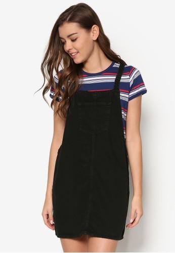 丹寧吊帶連身裙, esprit 品牌服飾, 洋裝