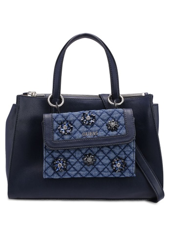 Buy Guess Sienna 2 In 1 Society Satchel Online on ZALORA Singapore 2c7fb54137