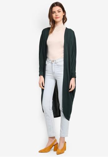Zalia green Knit Batwing Cardigan 7288AAA4716624GS_1