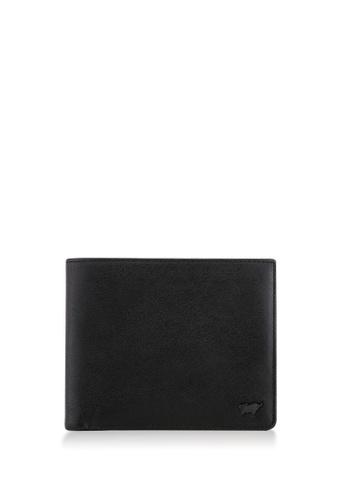 Braun Buffel black Raznor Flap-Up Cards Wallet 03F96AC4025CFAGS_1