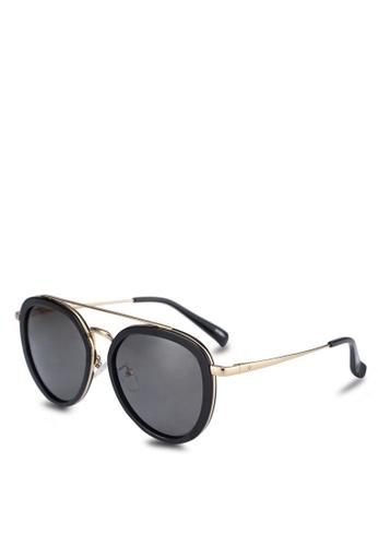 BLANC & ECLARE black Sao Paulo Sunglasses C5E80GL8835793GS_1
