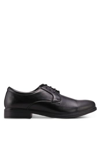 Bata black Faux Leather Dress Shoes 51476SHC59C3ACGS_1