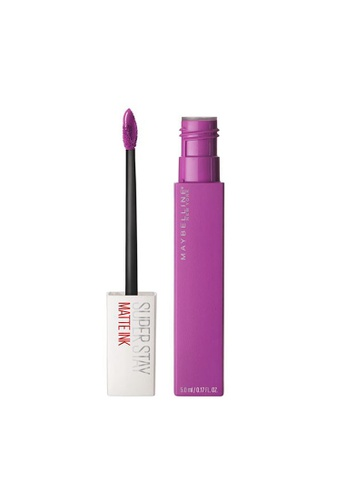 Maybelline purple Maybelline Superstay Matte Ink Creator Liquid Lipstick 30B43BE3CFDB82GS_1