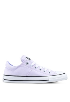 ce4f1349ff1 Converse white and purple Chuck Taylor All Star Madison Sneakers  852CFSH9753BB4GS 1
