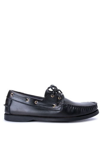 Alberto black Top Sider Loafers AL375SH0IRQTPH_1