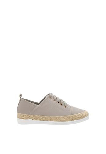 SEMBONIA grey Women Synthetic Leather Sneaker D855ESH4DD233AGS_1