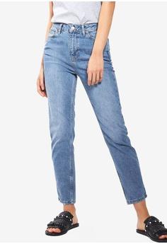 6d3483e8d16 TOPSHOP blue Mid Blue Orson Slim Jeans D5E66AA0543C07GS_1