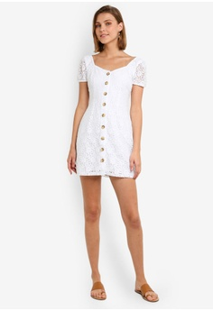 659aba3640ed 7% OFF Abercrombie   Fitch Button Through Lace Dress S  124.00 NOW S   114.90 Sizes XS S M L