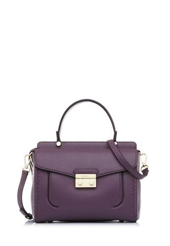 BONIA purple Orchid Broad Satchel M E410FAC627534DGS_1