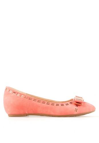 INSIDE pink Inside Flats Evita - Pink IN074SH91BEYID_1