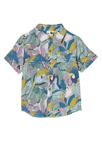 Cotton On Kids multi Resort Short Sleeve Shir 828F4KAD96CF77GS_1