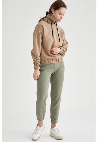 DeFacto green Woman Knitted Trouser 603CFAACCCD44CGS_1