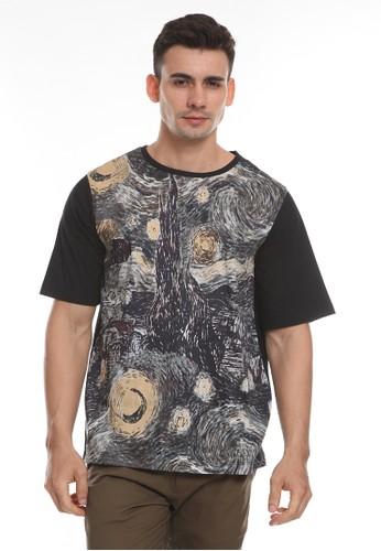 MOC black BACKBOARD-BLACK SS T-Shirt C83CAAA1DDB32DGS_1